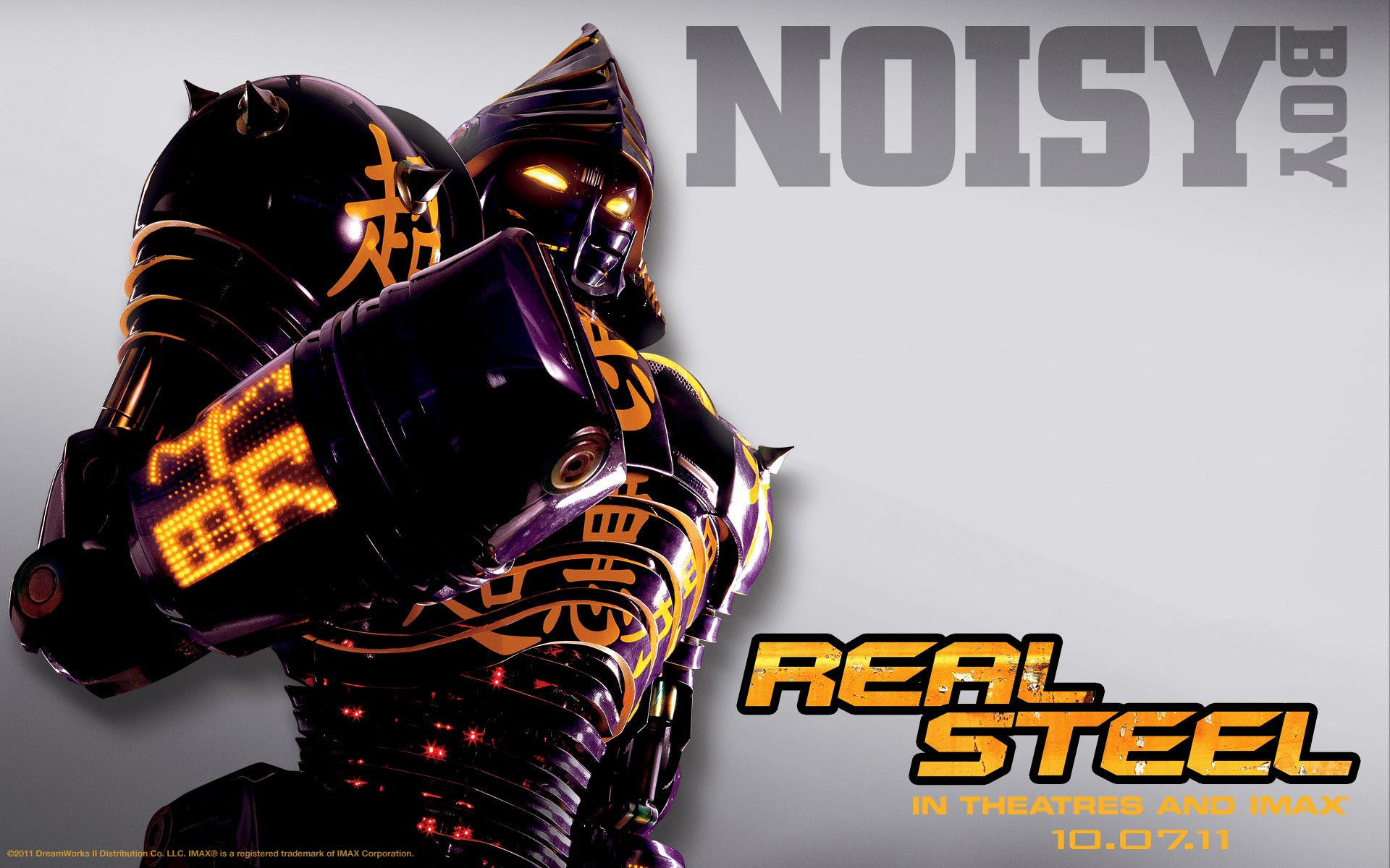 Real Steel Robots Wallpaper