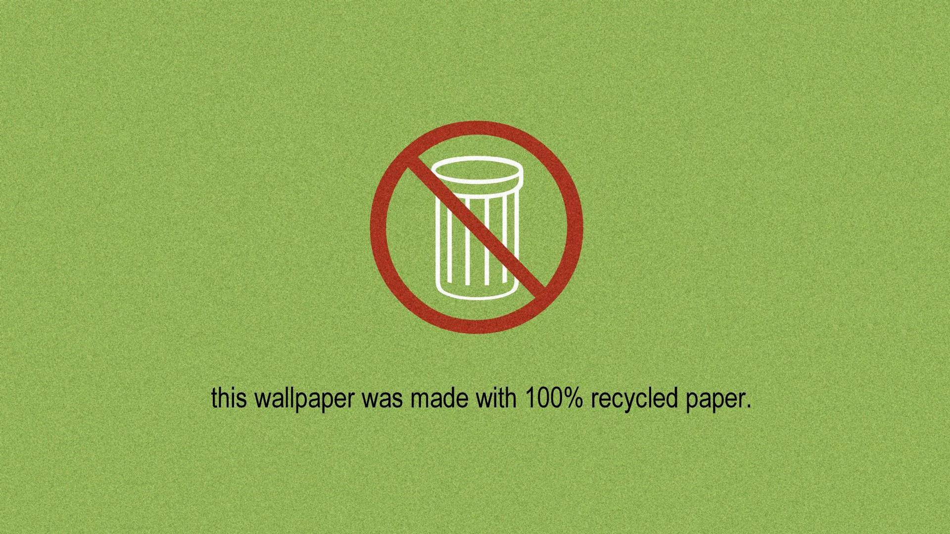 Recycled Wallpaper