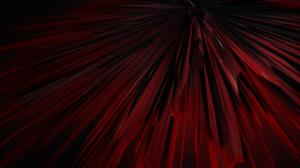 Red And Black Abstract Wallpaper