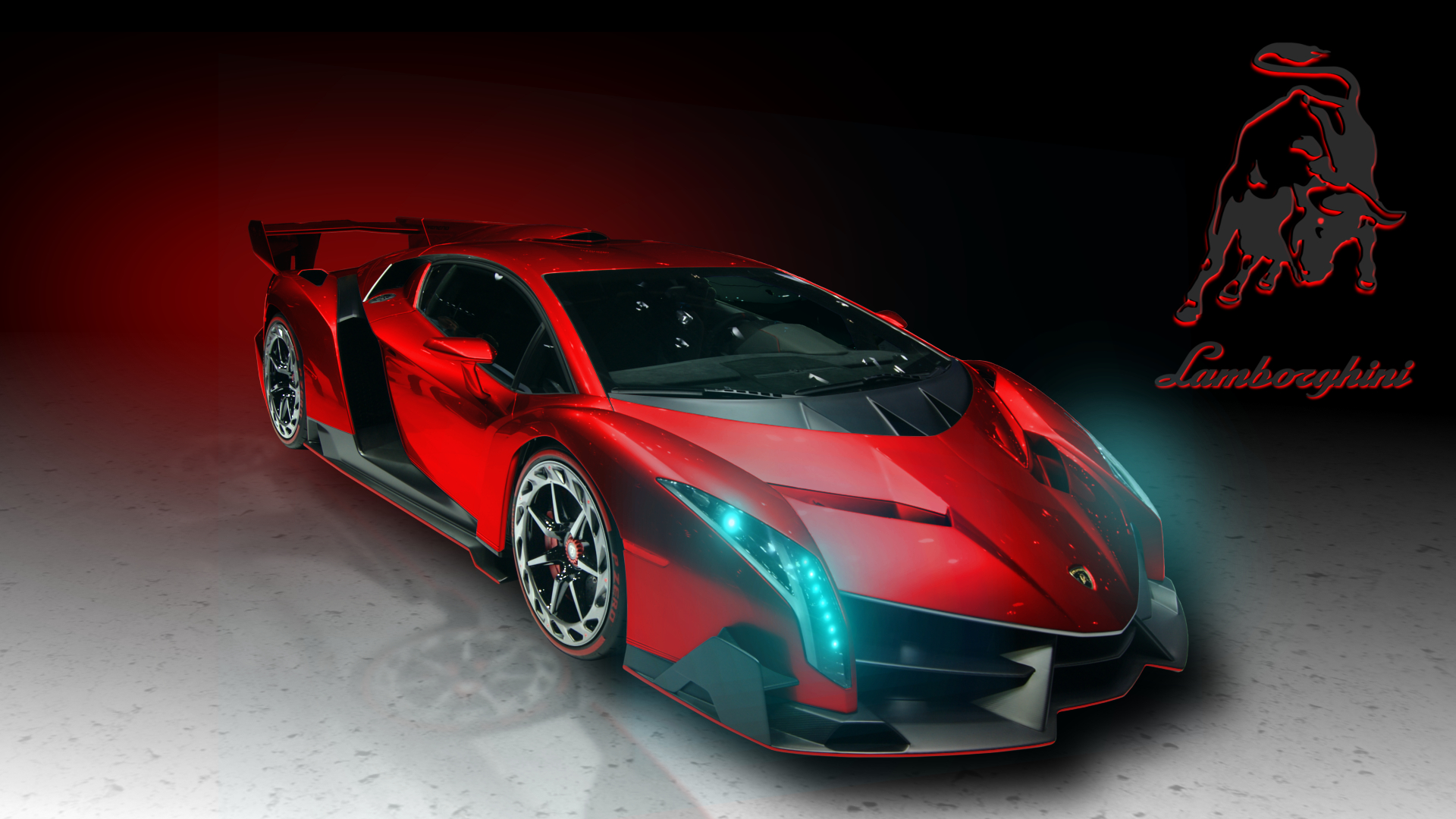 Download Red And Black Lamborghini Wallpaper Gallery