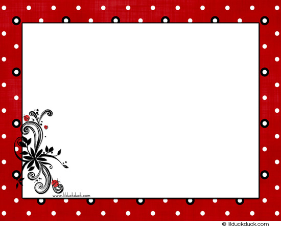 Red And Black Wallpaper Border
