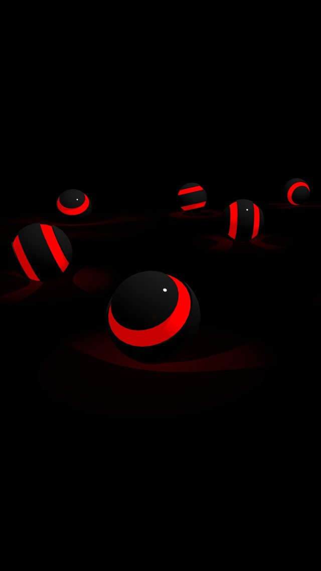 Red And Black Wallpaper For Iphone