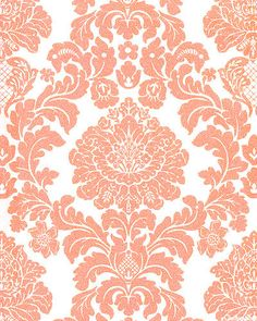 Download Red And Cream Damask Wallpaper Gallery
