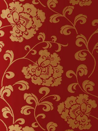Red And Gold Wallpaper Uk