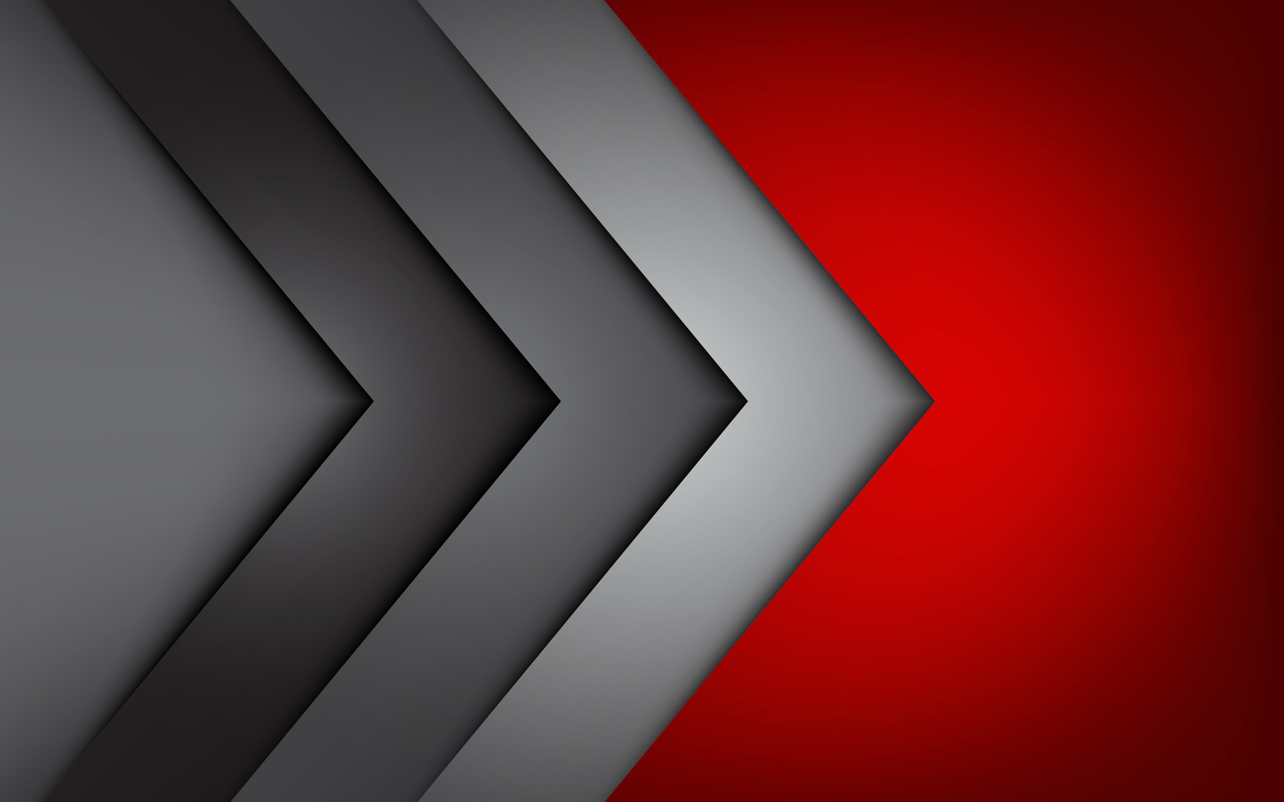 Red And Grey Wallpaper