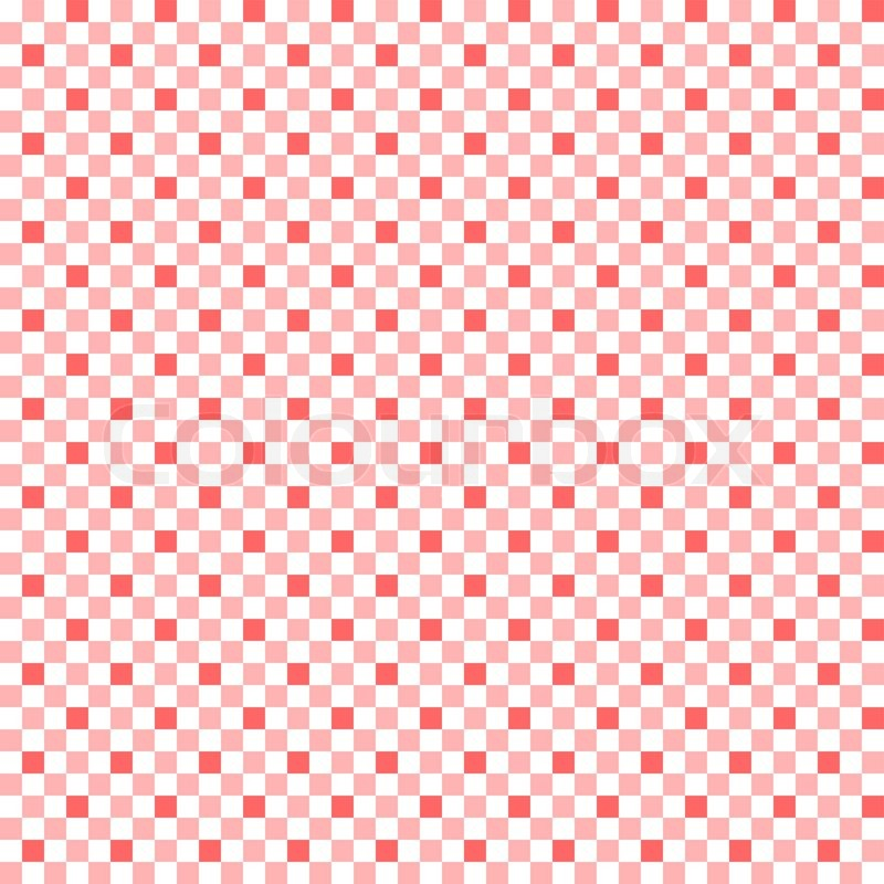 Red And White Patterned Wallpaper