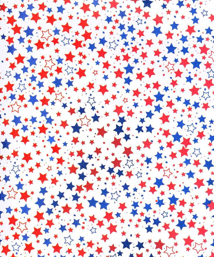 Red And White Star Wallpaper