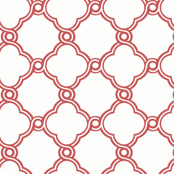 Red And White Wallpaper For Walls