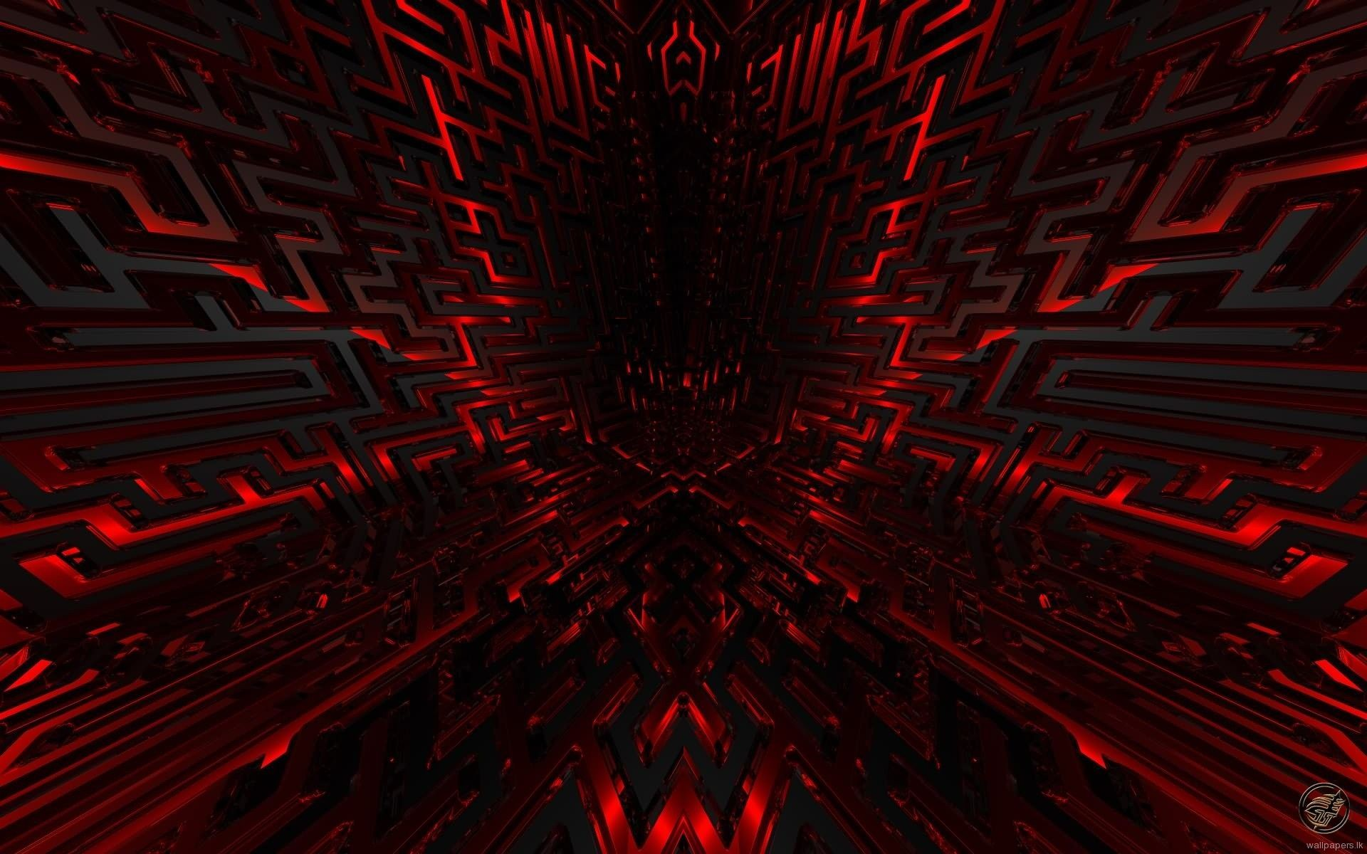 Red Black Desktop Wallpaper