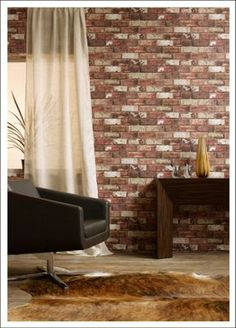 Red Brick Wallpaper Homebase