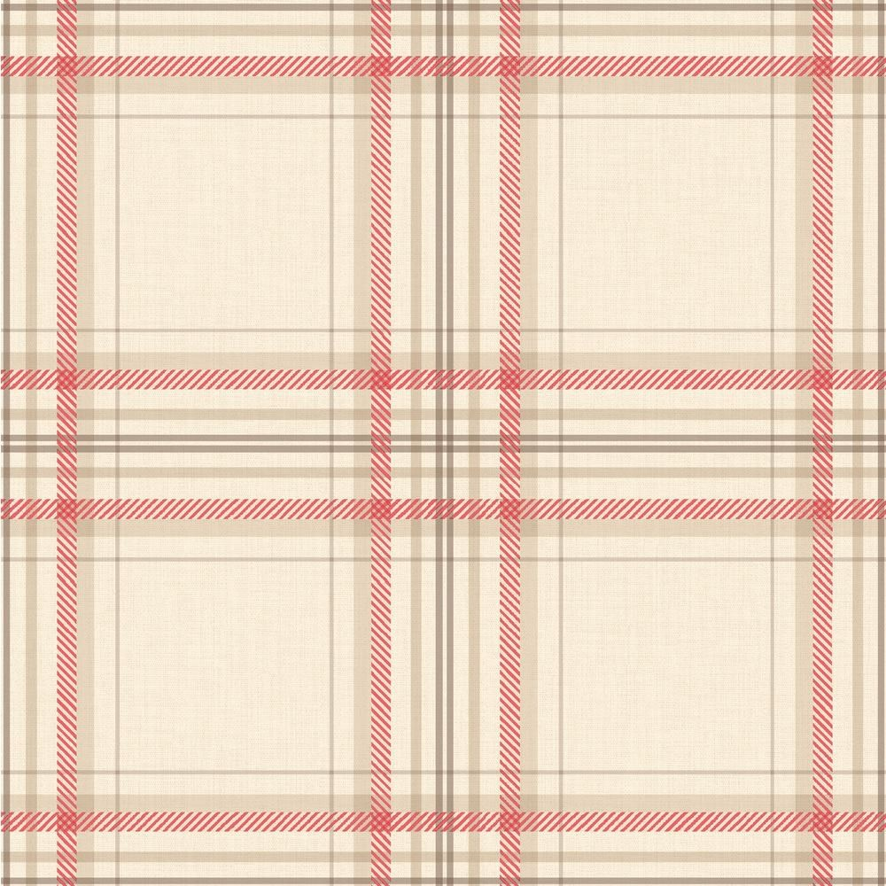 Red Check Wallpaper Uk