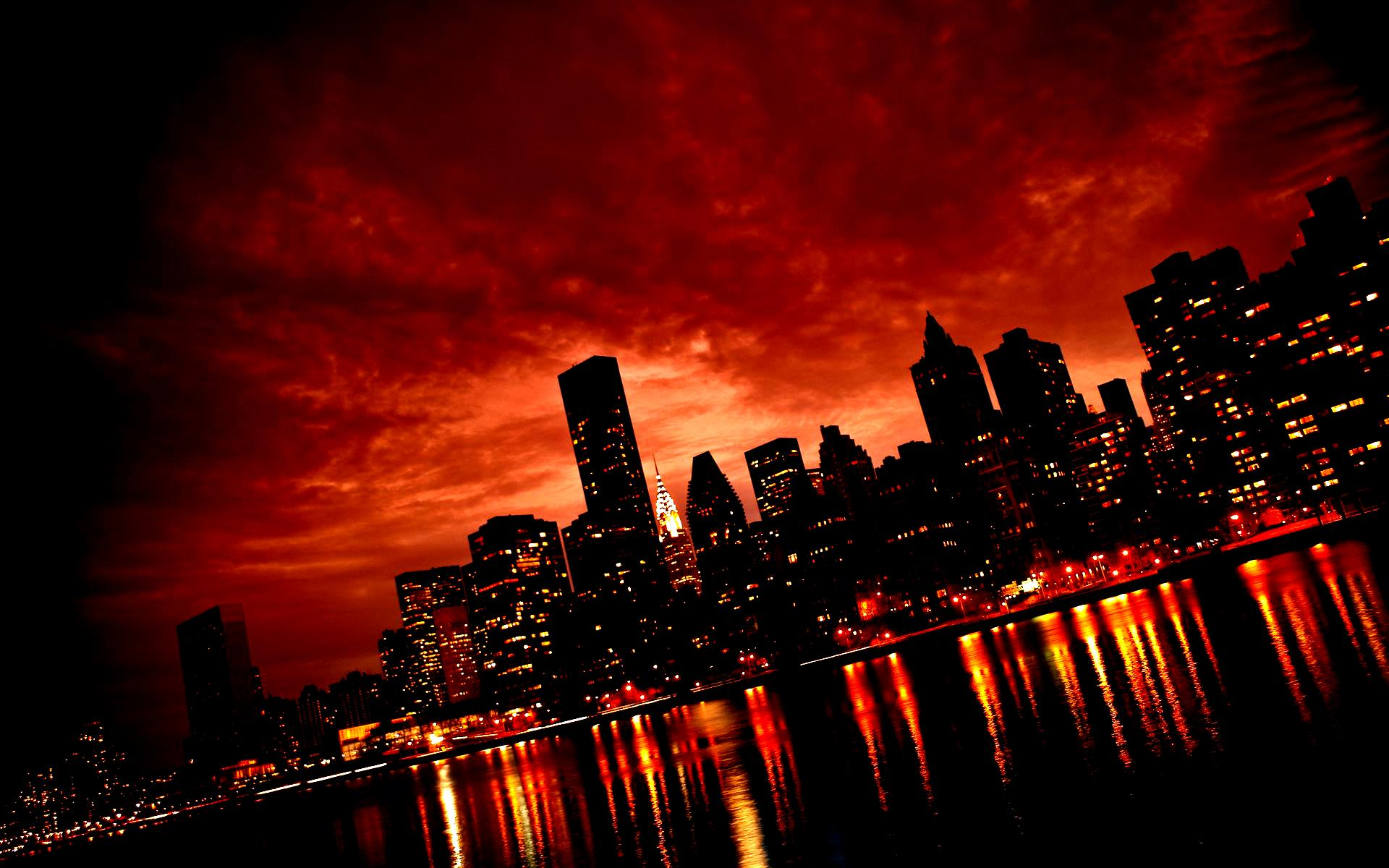 Download Red City Wallpaper Gallery