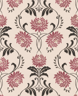 Red Cream And Black Wallpaper