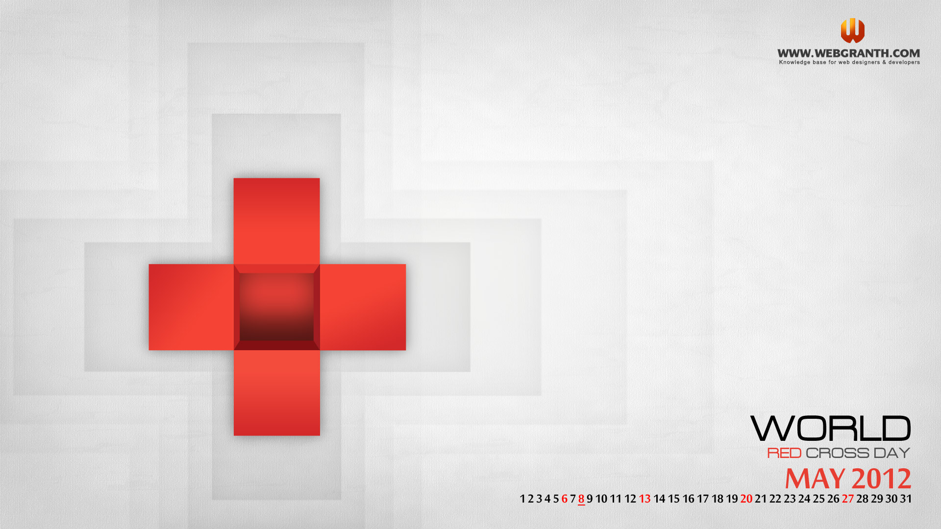 Red Cross Wallpaper