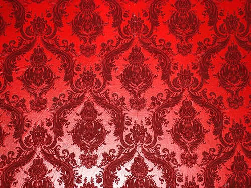 Download Red Damask Wallpaper Gallery