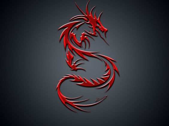 Red Dragons Wallpaper