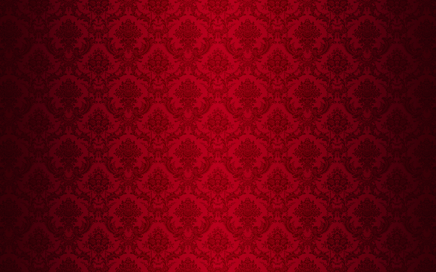 Red Flocked Wallpaper