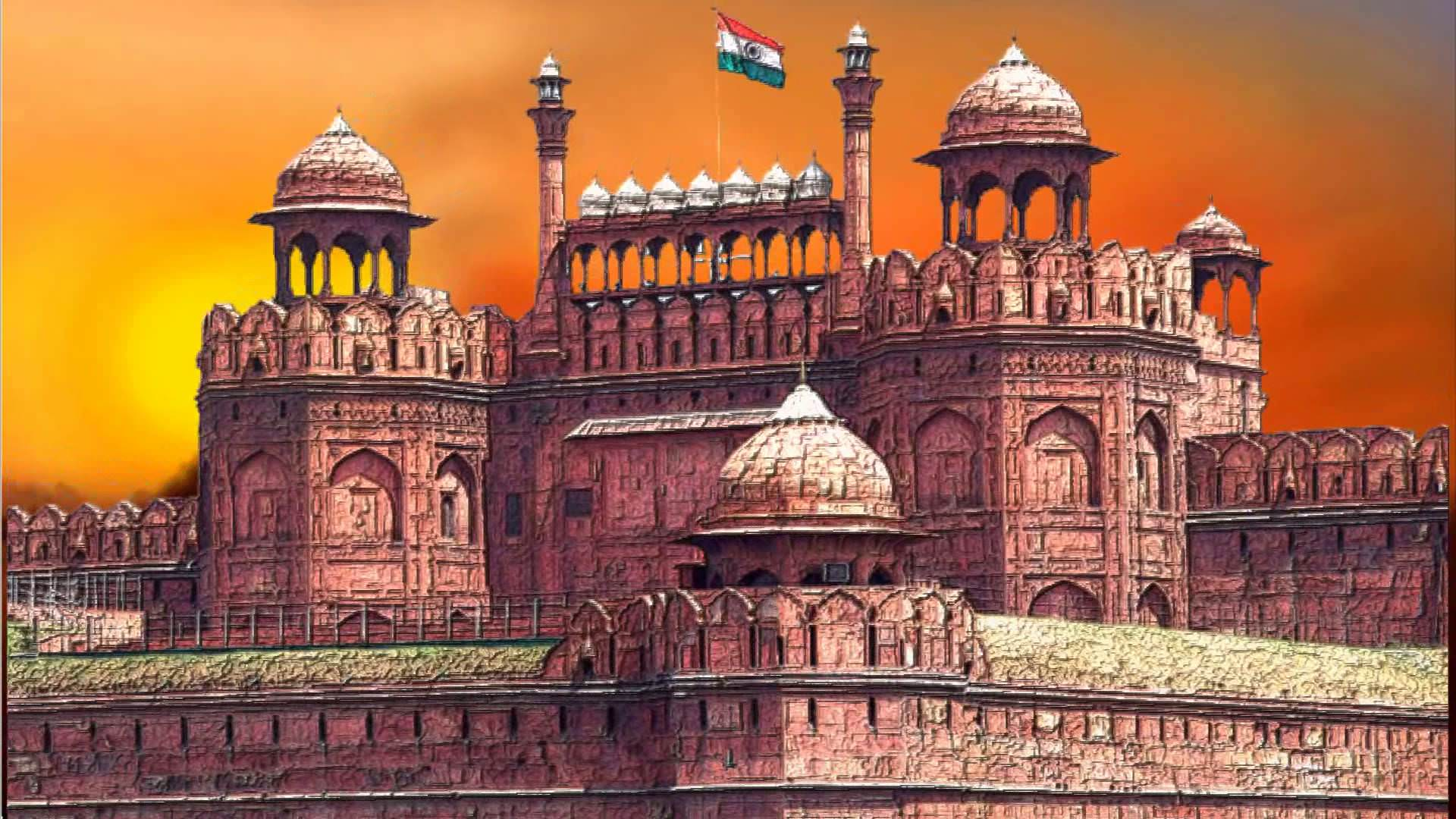 Download Red Fort HD Wallpaper Gallery