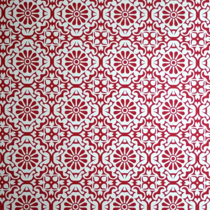 Red Funky Wallpaper