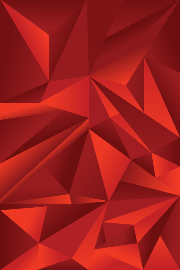 Red Geometric Wallpaper