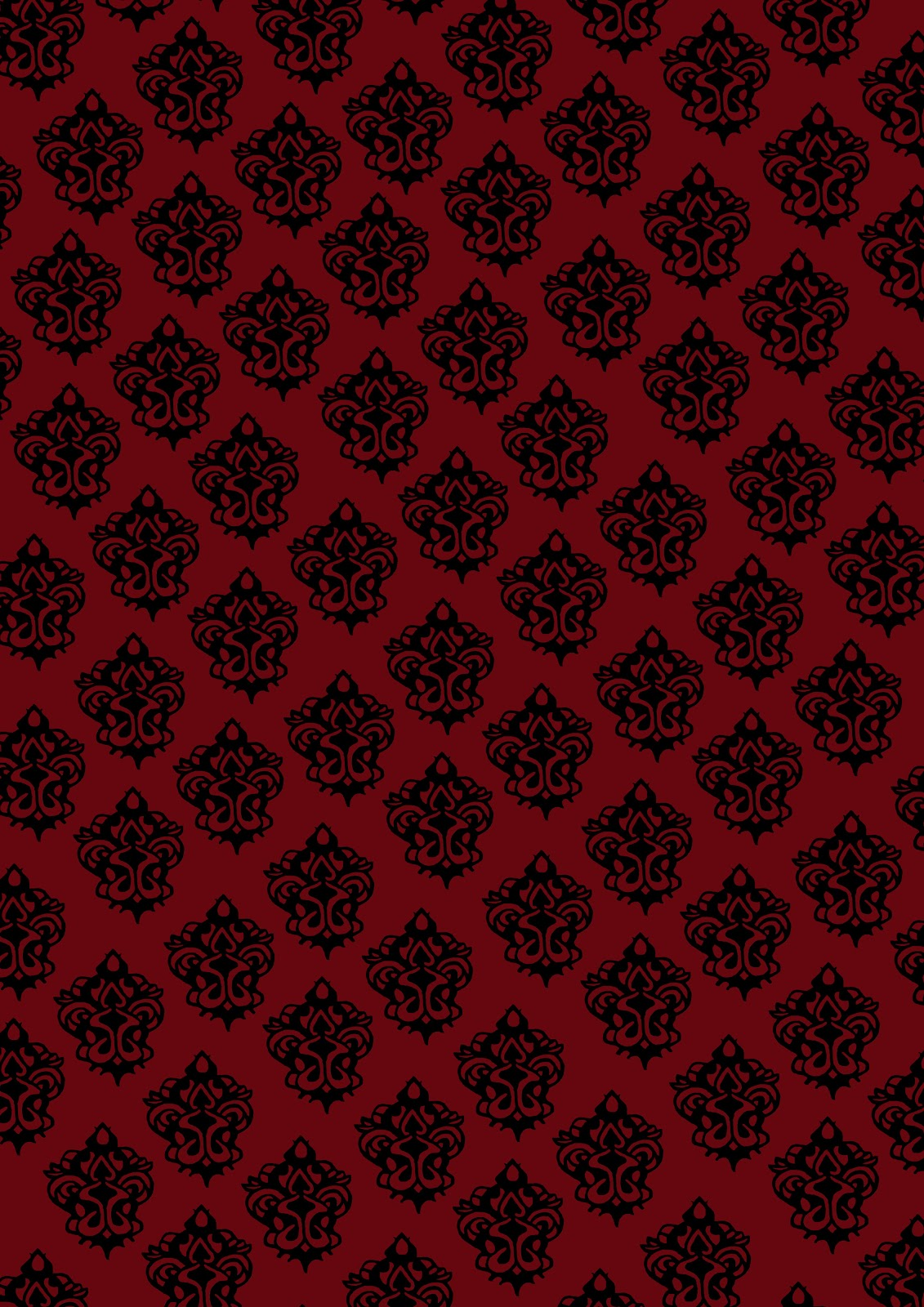 Red Gothic Wallpaper