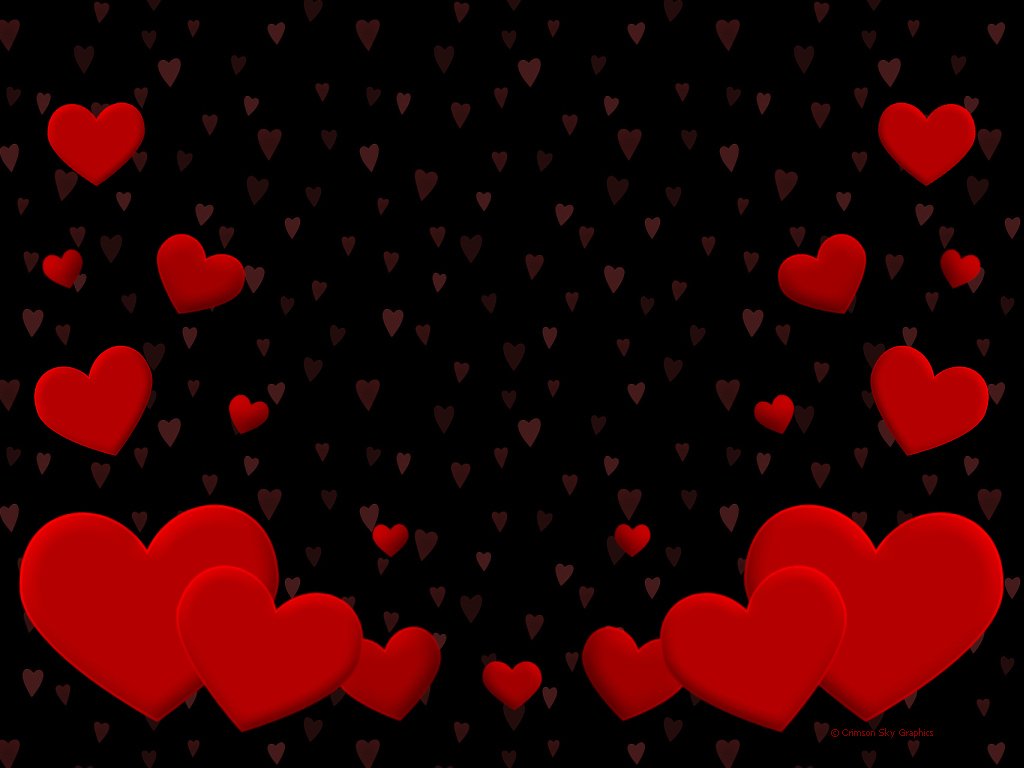 Red Heart Wallpaper For Walls