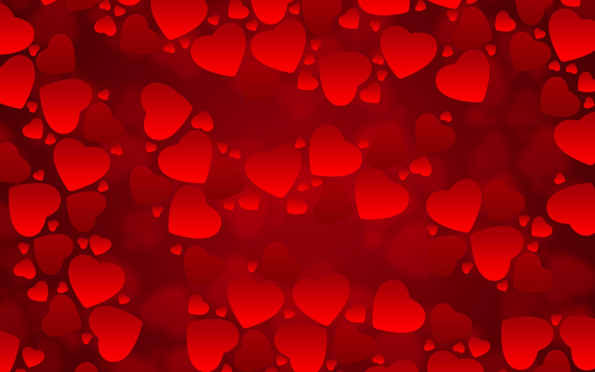 Red Hearts Wallpapers