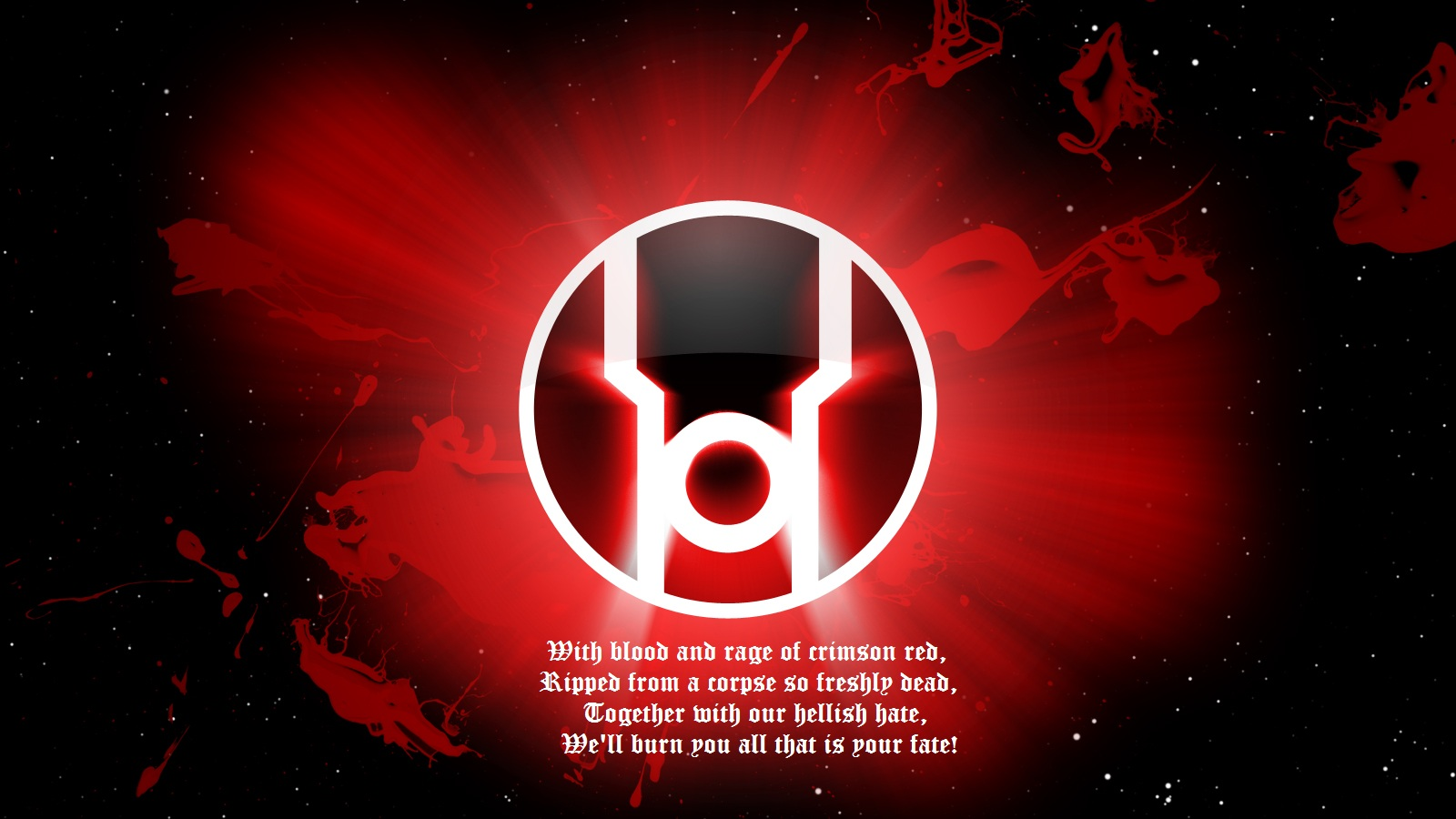 Red Lantern Corps Wallpaper