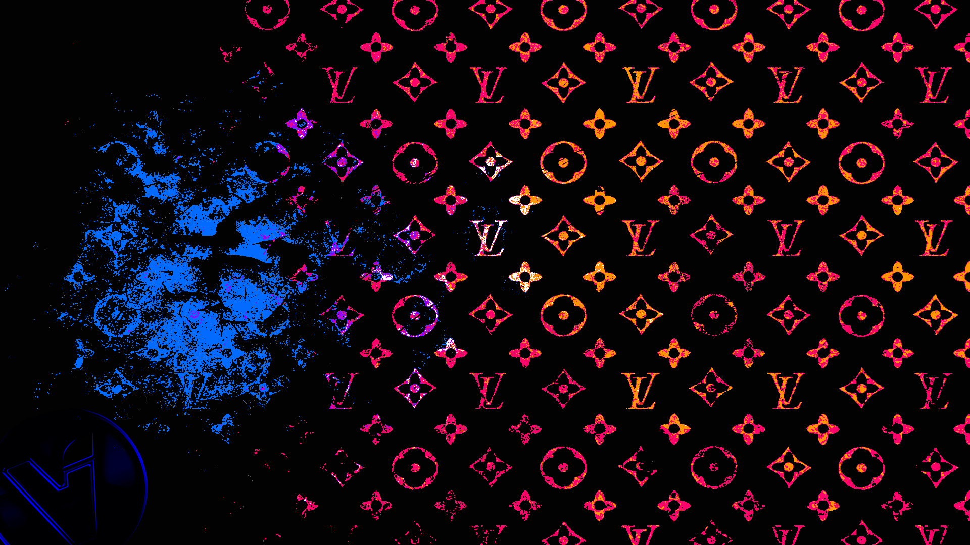 Download Red Louis Vuitton Wallpaper Gallery