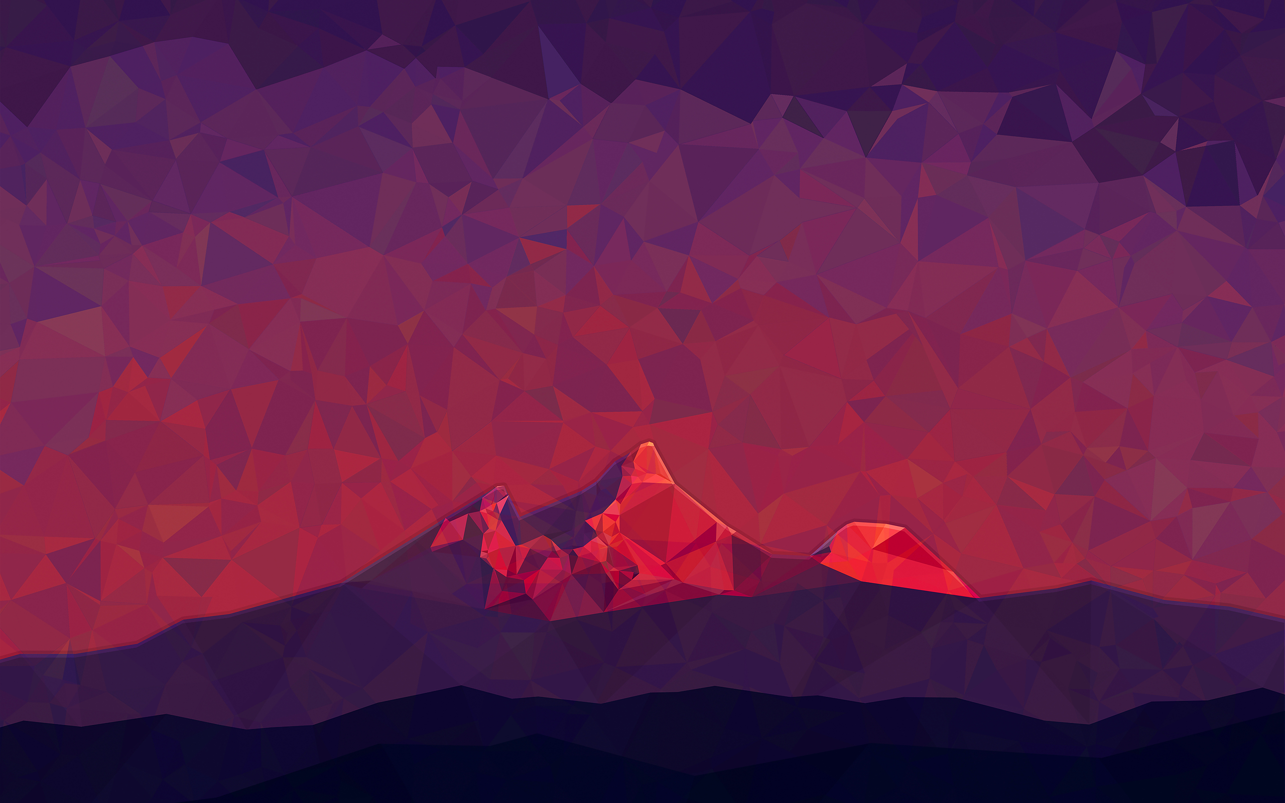 Red Mountain Wallpaper