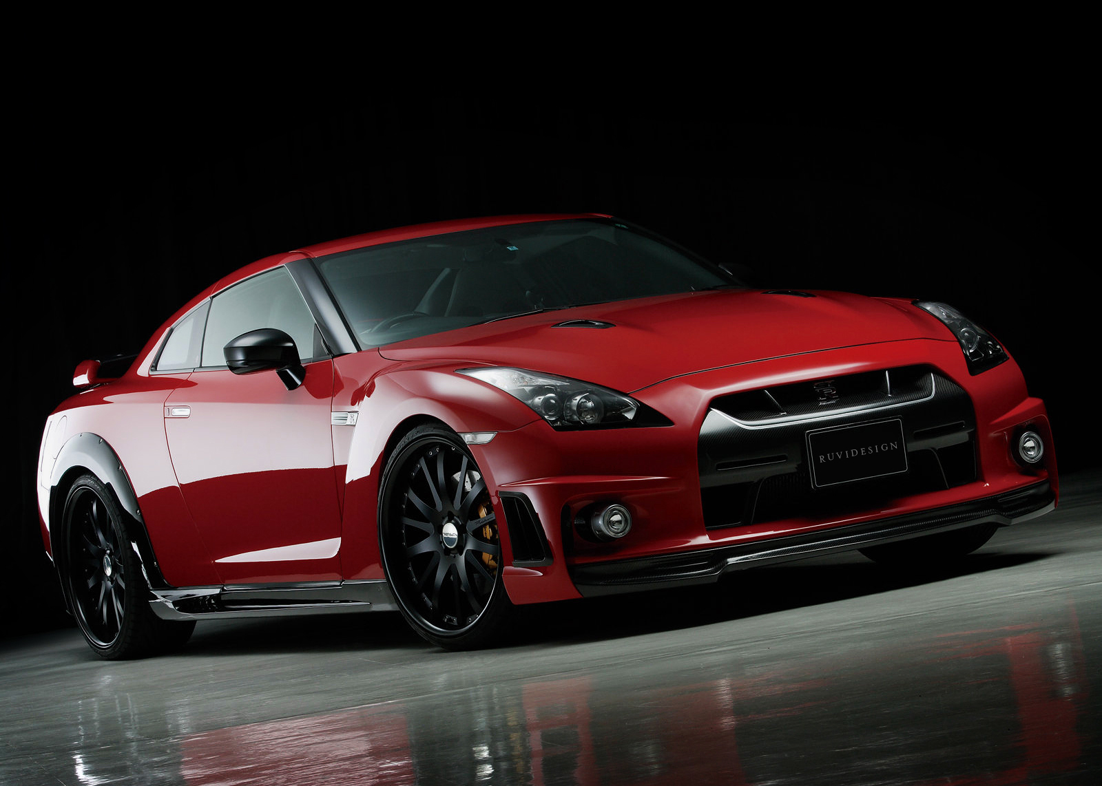 Download Red Nissan Gtr Wallpaper Gallery
