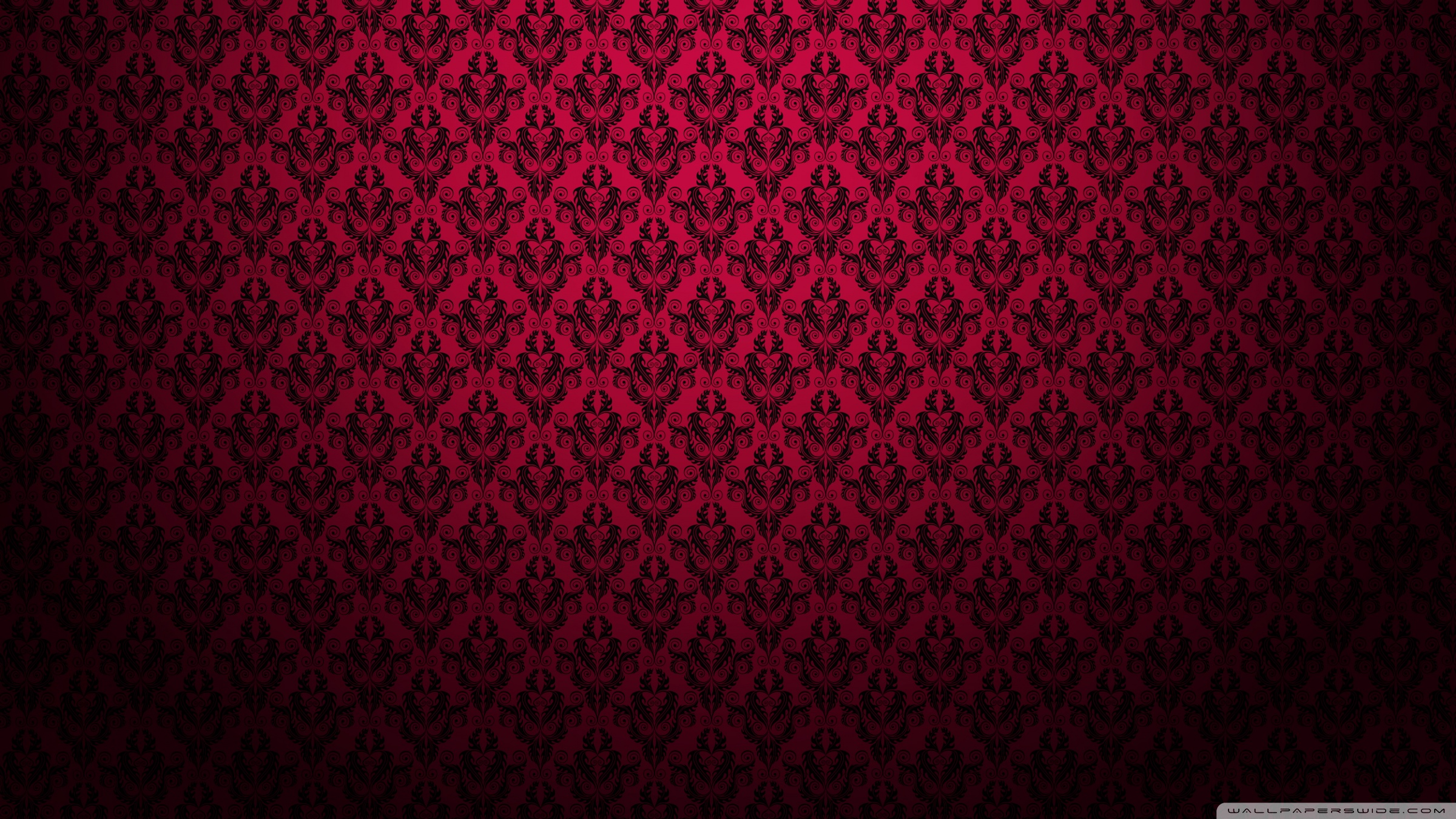 Red Pattern Wallpaper