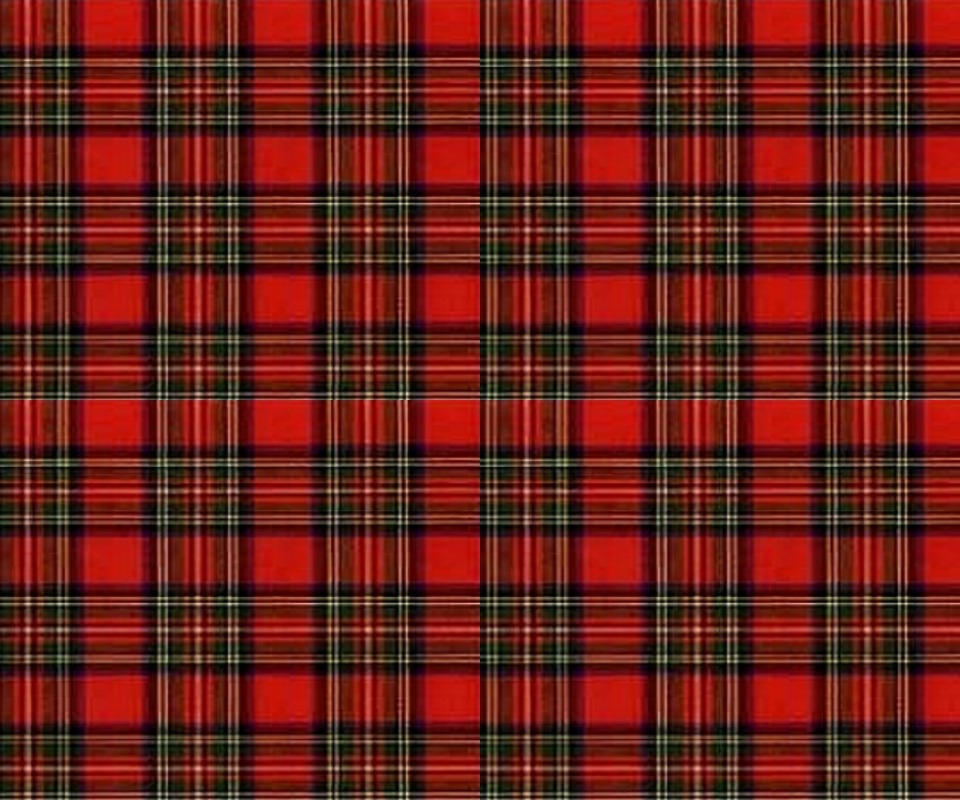Red Plaid Wallpaper