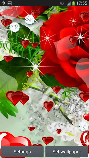 Download Red Rose Live Wallpaper Download Gallery