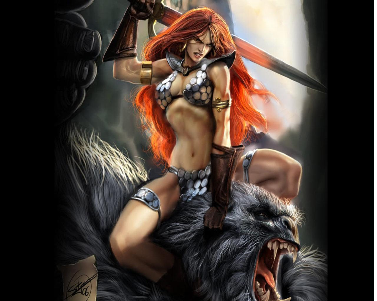 Red Sonja Wallpaper