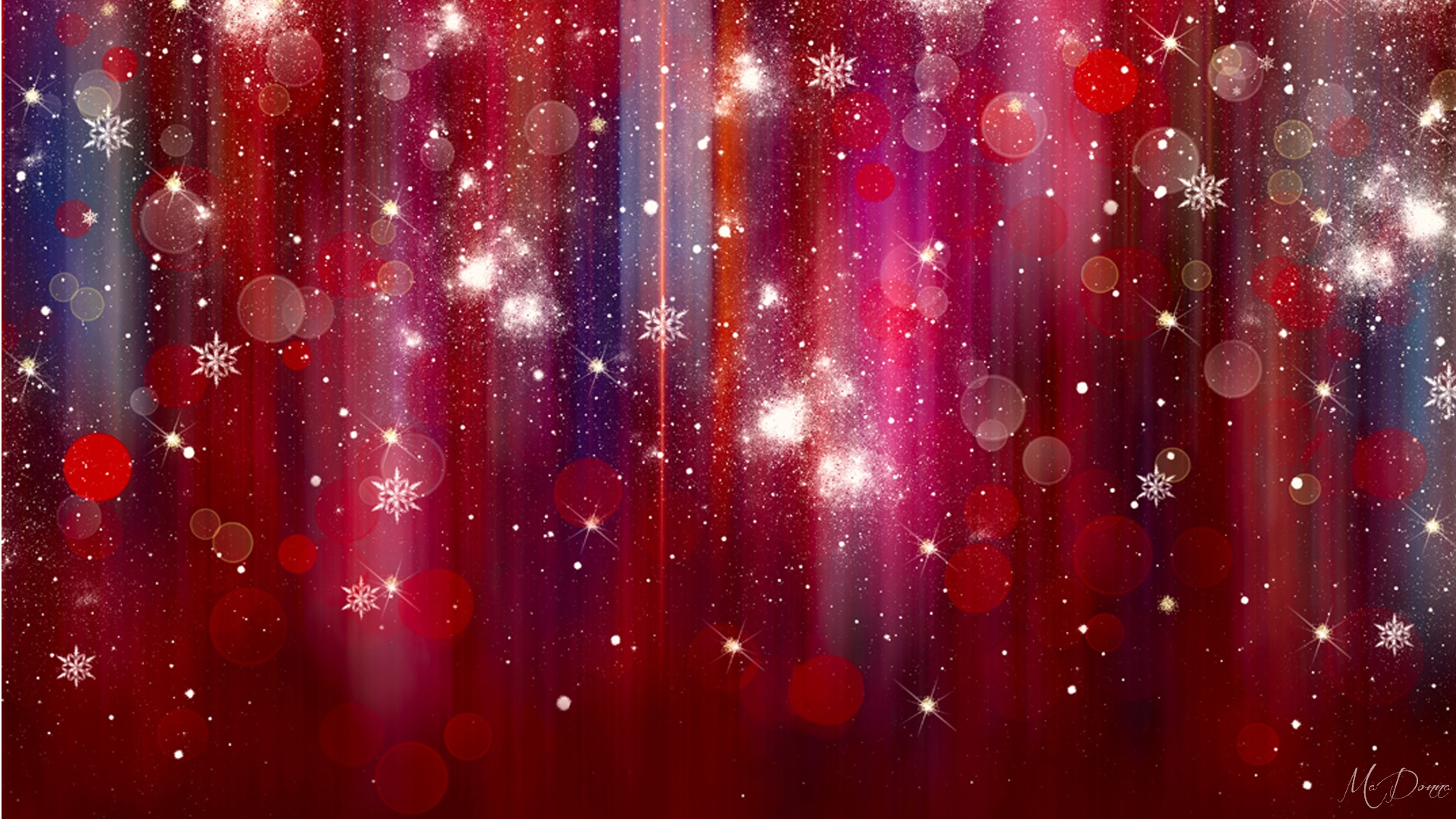 Red Sparkle Wallpaper