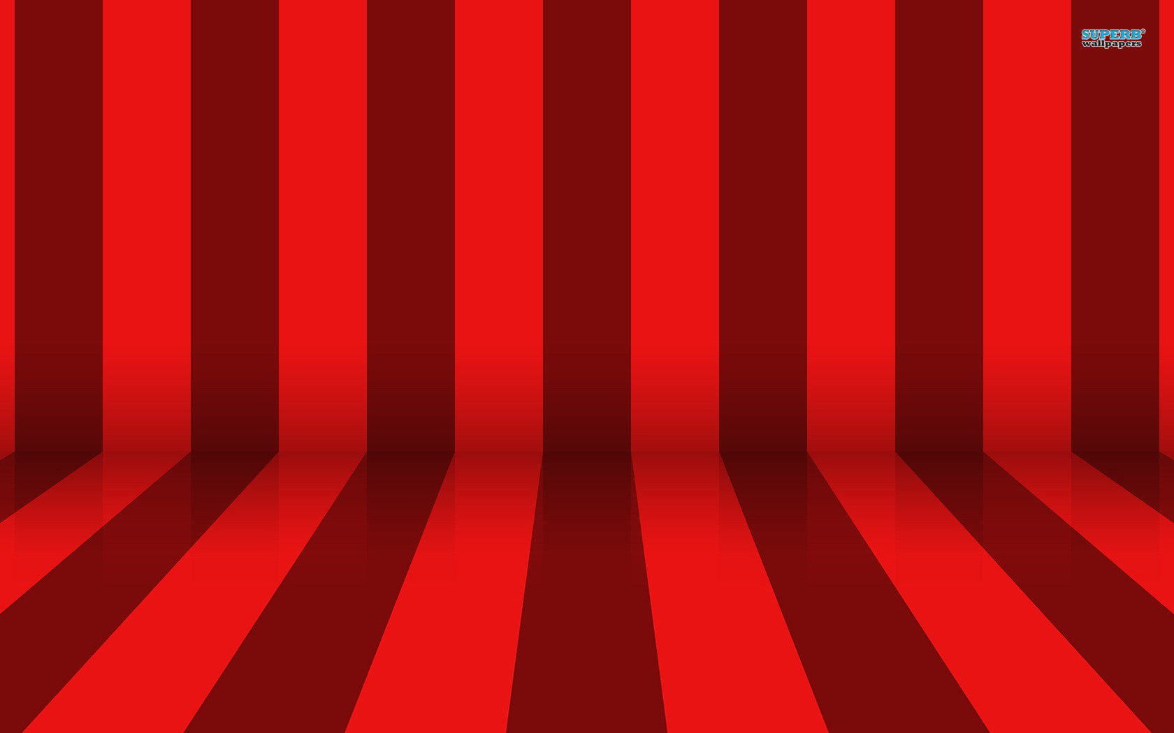 Red Stripes Wallpaper
