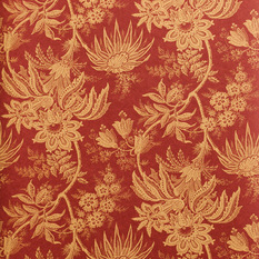 Red Victorian Wallpaper