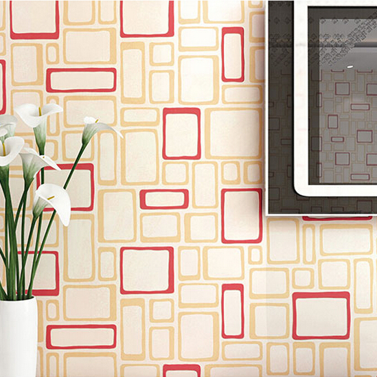 Red Wallpaper Designs For Walls