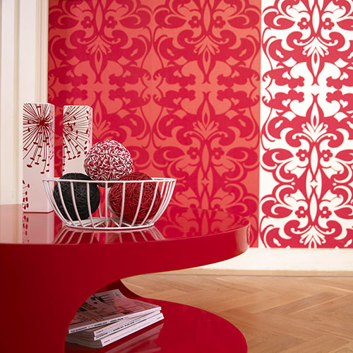 Red Wallpaper For Walls