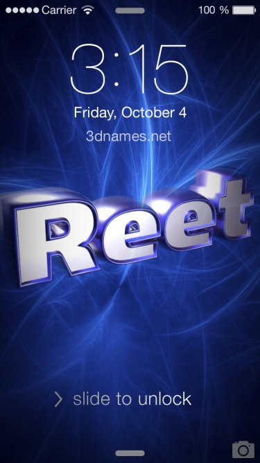 Reet Name Wallpaper