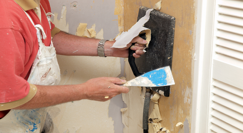 Remove Wallpaper And Paint