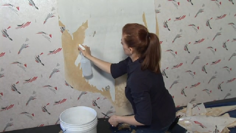 Remove Wallpaper From Drywall