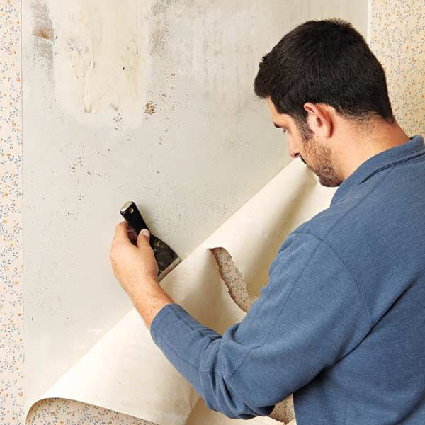 Remove Wallpaper From Plaster