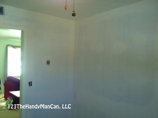 How To Remove Wallpaper Glue Before Painting