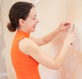 Remove Wallpaper Paste From Walls