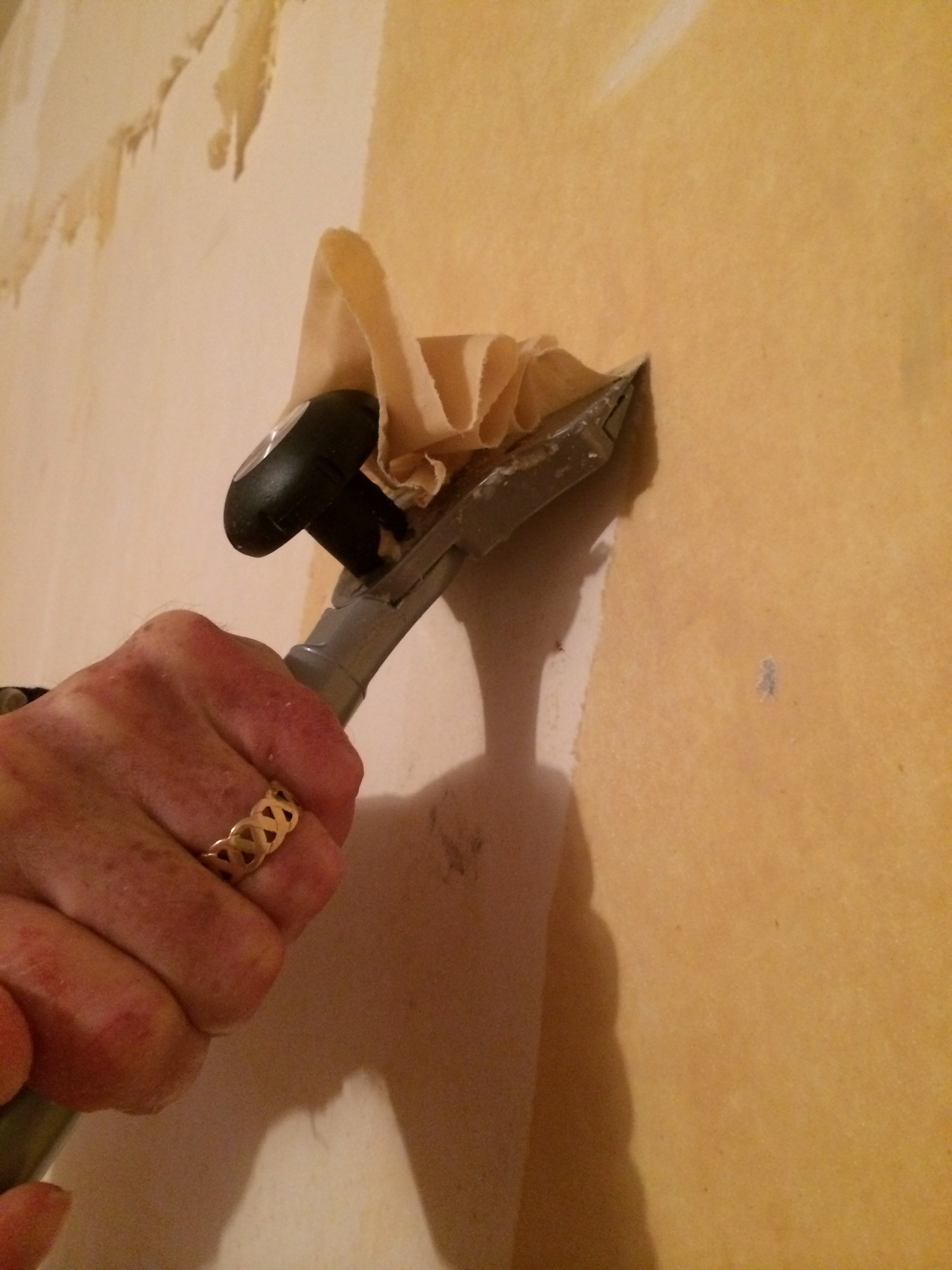 How to remove wallpaper paste from sheetrock - Download Remove Wallpaper Paste Residue Gallery