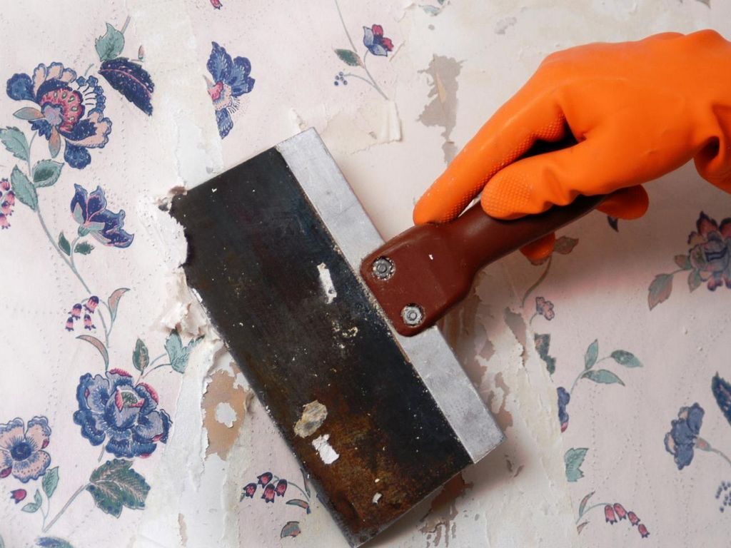 Remove Wallpaper With Fabric Softener