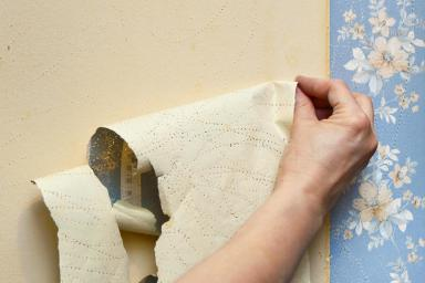 Removing Old Wallpaper Paste