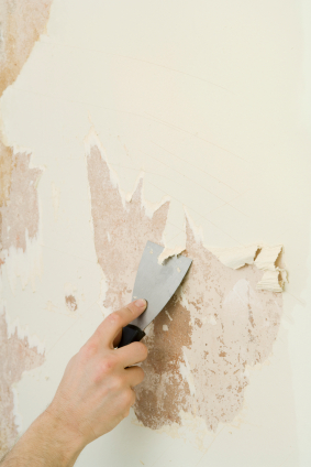 Removing Vinyl Wallpaper